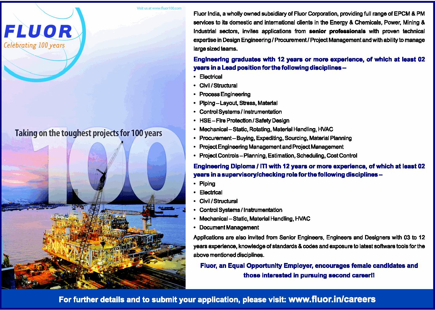 fluor daniel india