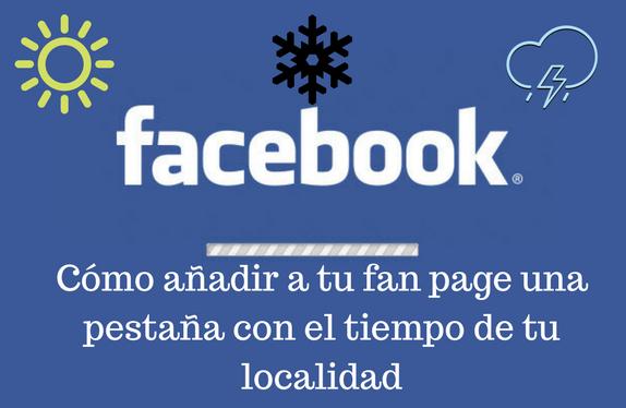 Redes Sociales, fan page, pestaña, tiempo, localidad
