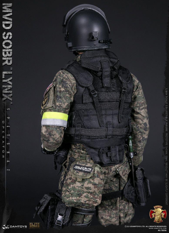 DAMTOYS RUSSIAN SPETSNAZ MVD SOBR LYNX 13