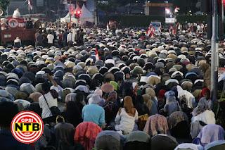 Massa Aksi 22 Mei Membeludak
