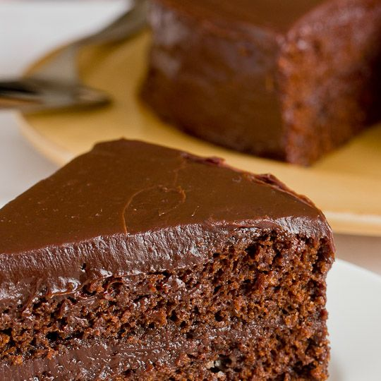 Recipe Method for Chocolate Ganache Cake