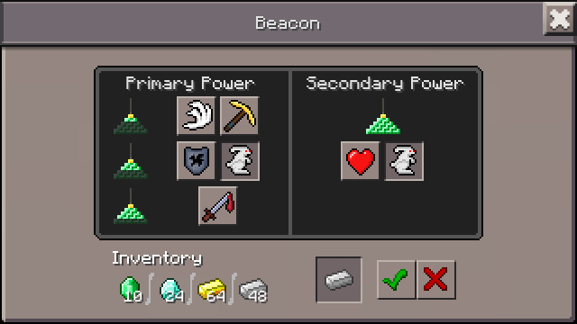 how to make a beacon in minecraft pc