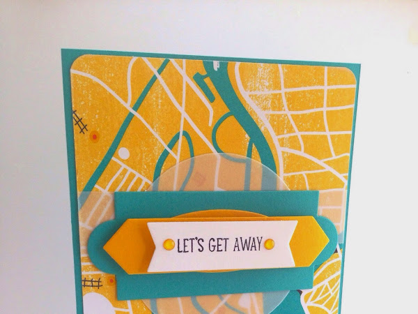 Stampin' Up! Lets Get Away - Project life