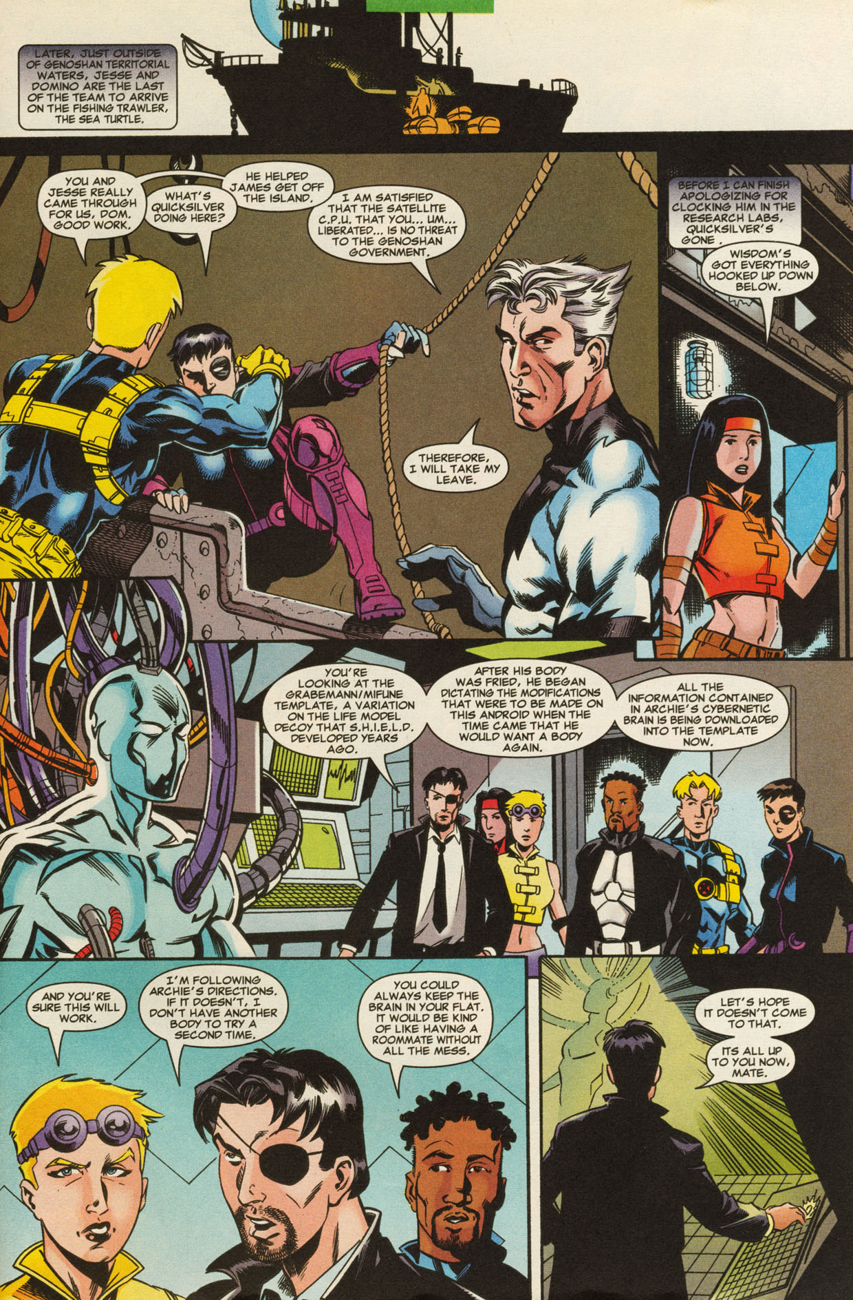 Read online X-Force (1991) comic -  Issue #95 - 28