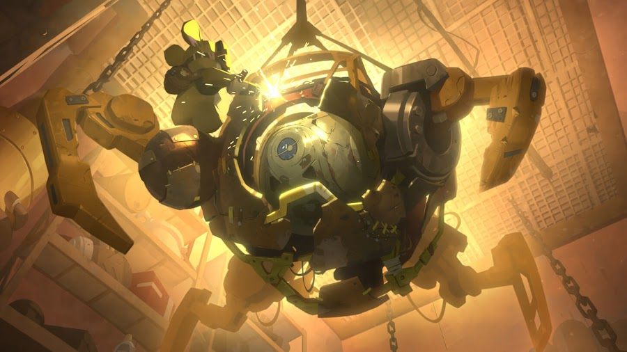overwatchs hero wrecking ball junkertown