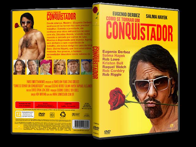 Capa DVD Como Se Tornar Um Conquistador [Exclusiva]