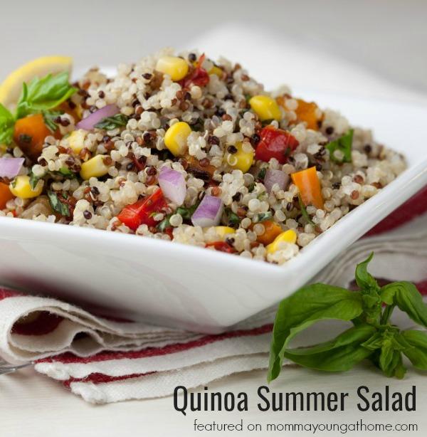 Quinoa Summer Salad Recipe