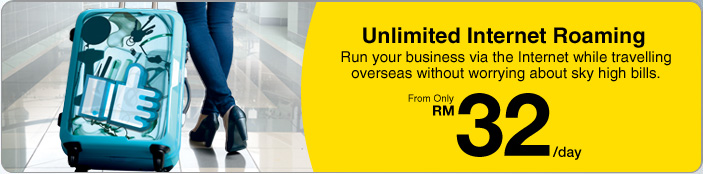 Unlimited Internet Roaming with DiGi! - My Stories