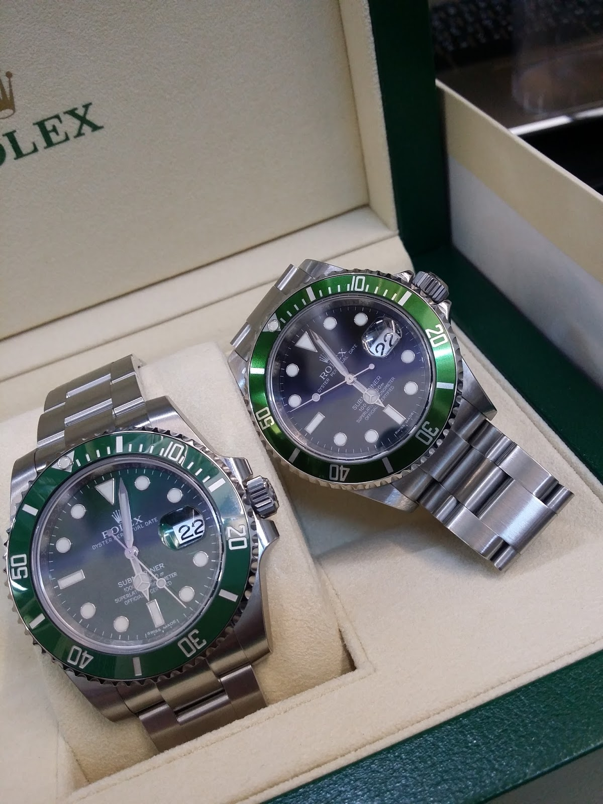 Hong Kong Watch Fever 香港勞友: Preowned Rolex Submariner ...
