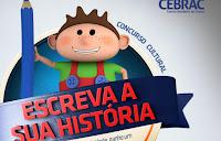 Concurso Cultural 'Escreva sua história' Cebrac