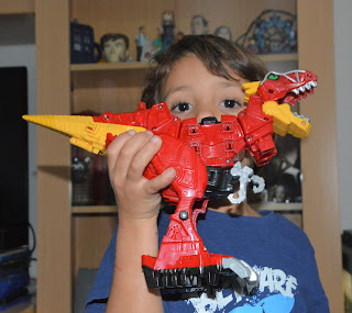 Dino megazord super charge power rangers