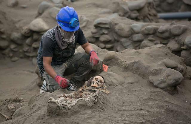 Second Pre-Columbian mass child sacrifice site discovered in Peru
