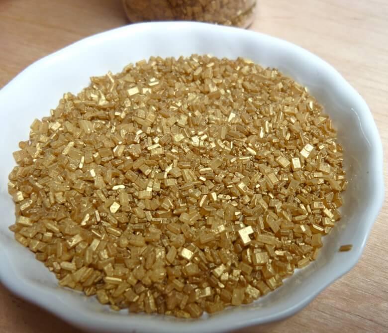 En nadir bulunan yiyecekler: altın