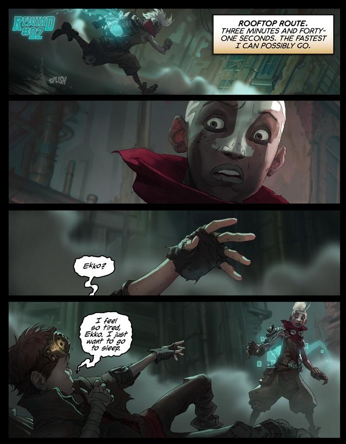 Deep Wallpaper Quotes Surrender At 20 Ekko Chronobreak Comic