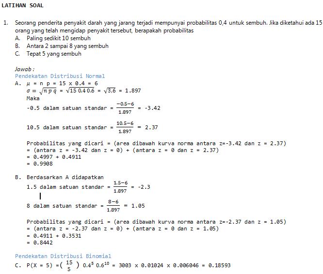 Materi kuliah statistika ekonomi 1. Contoh Soal Dan Jawaban Statistika Probabilitas Contoh Soal Terbaru