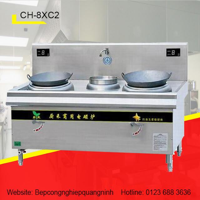 Bếp từ 2 lò 1 bầu nước CH-8XC2
