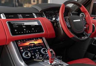 Interior Mobil SUV yang mewah dengan fasilitas dan fitur yang lengkap