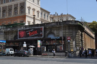 The Teatro delle Quattro Fontane is now a cinema complex