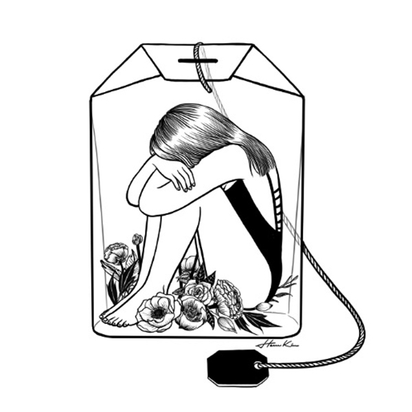 """Lady Grey Tea"" by Henn Kim 