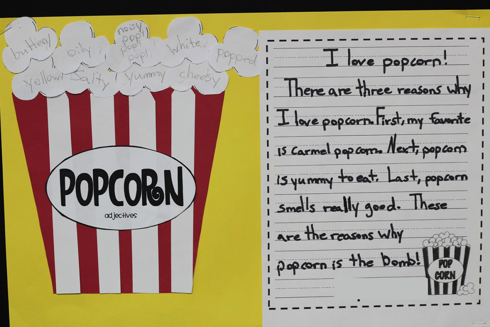 A View Into My Classroom Popcorn