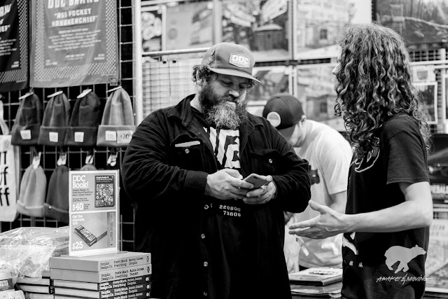 The man himself, Aaron James Draplin.