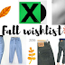 Fall Wishlist ☂