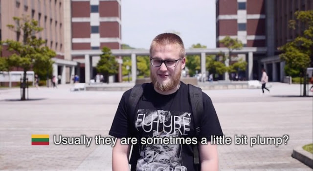 Lithuania student. Americans are sometimes a little bit plump. Video from sw yoon filmed at American Public University. The Smell of Freedom and other stories about merica. marchmatron.com