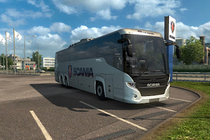 Bus Scania Touring EP3.5 by M Husni