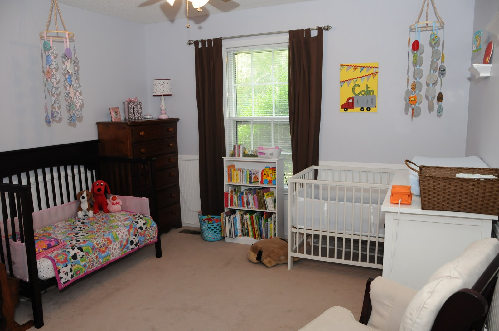 Where Is My Instruction Manual...: The Shared Nursery {a Tour}