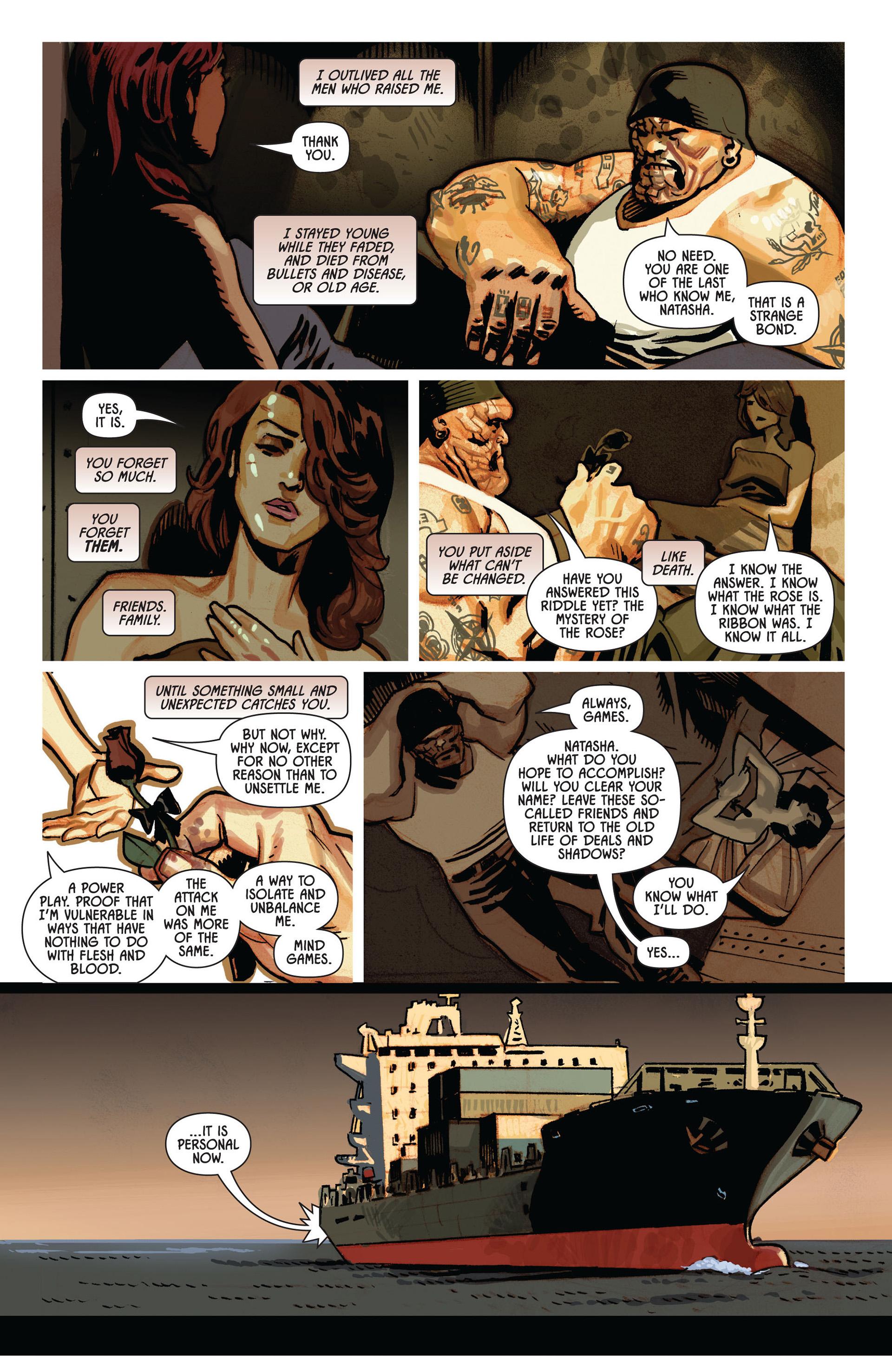 Comic Black Widow (2010) issue 3