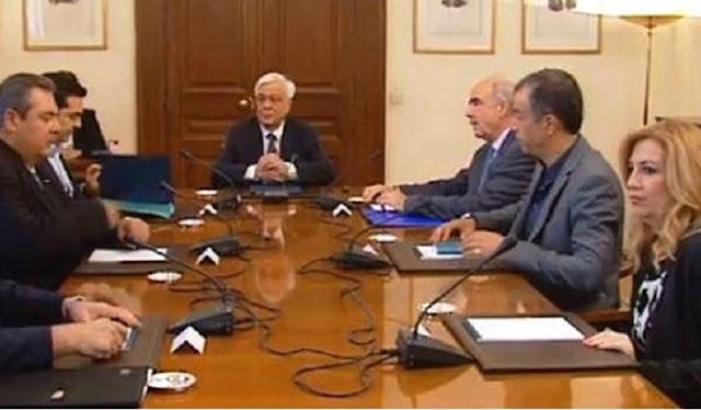 Το μεσημέρι το Συμβούλιο Πολιτικών Αρχηγών με επίκεντρο το ασφαλιστικό - Αδύναμος ο Τσίπρας, σκεπτικισμός στην αντιπολίτευση