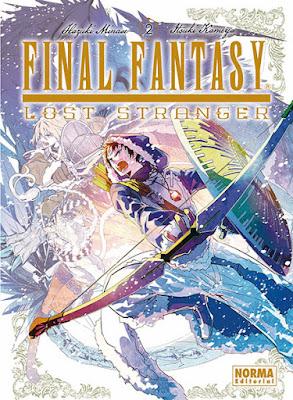 """Reseña de """"Final Fantasy: Lost Stranger"""" de Hazuki Minase y Itsuki Kameya - Norma Editorial"""