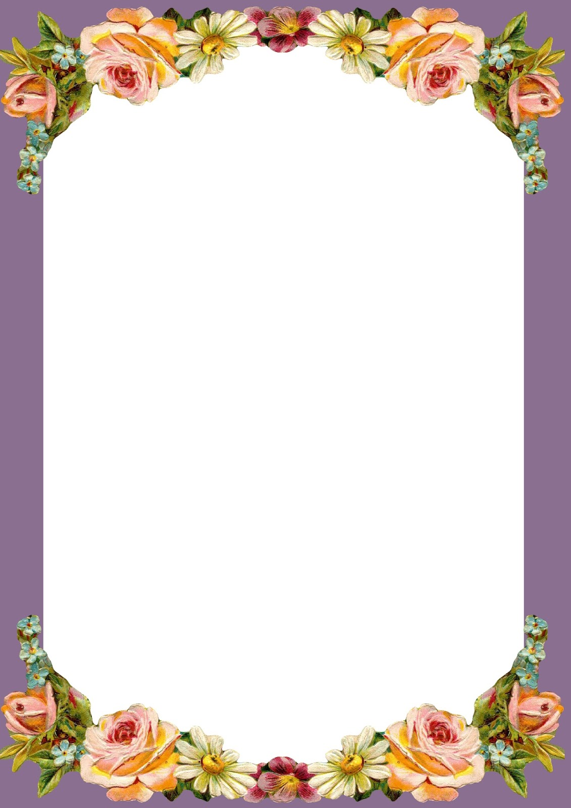 Crush image for printable borders