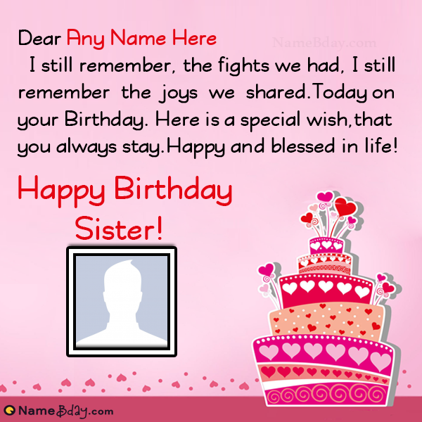 175+ Best Happy Birthday to Sister Messages, Greetings