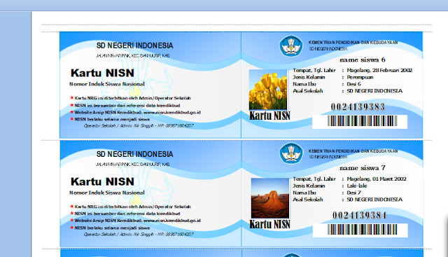 Download Program Aplikasi NISN Tampilan 2016 Terbaru