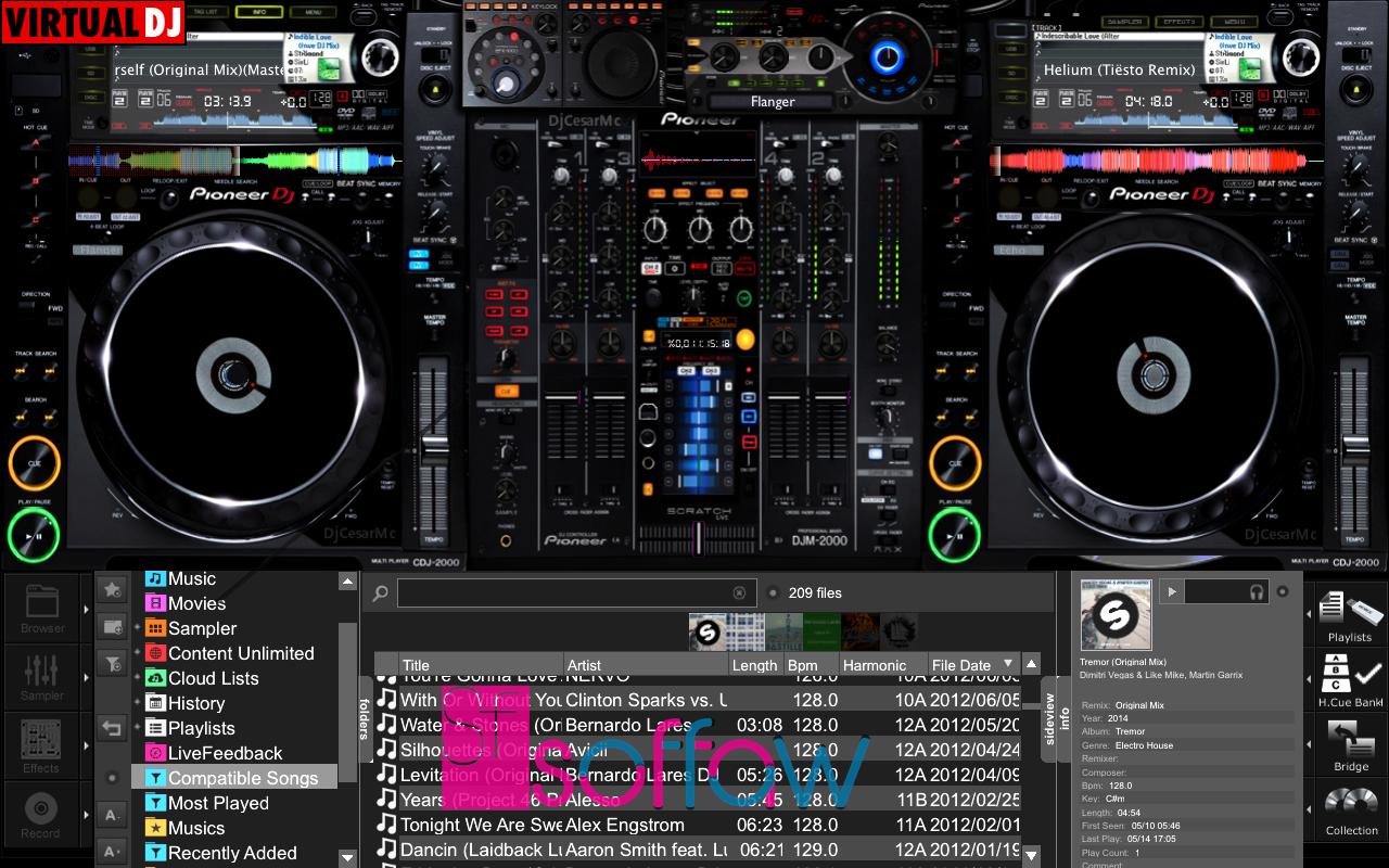 Atomix VirtualDJ 8 Pro Infinity 8 2 3994 Full Crack - software