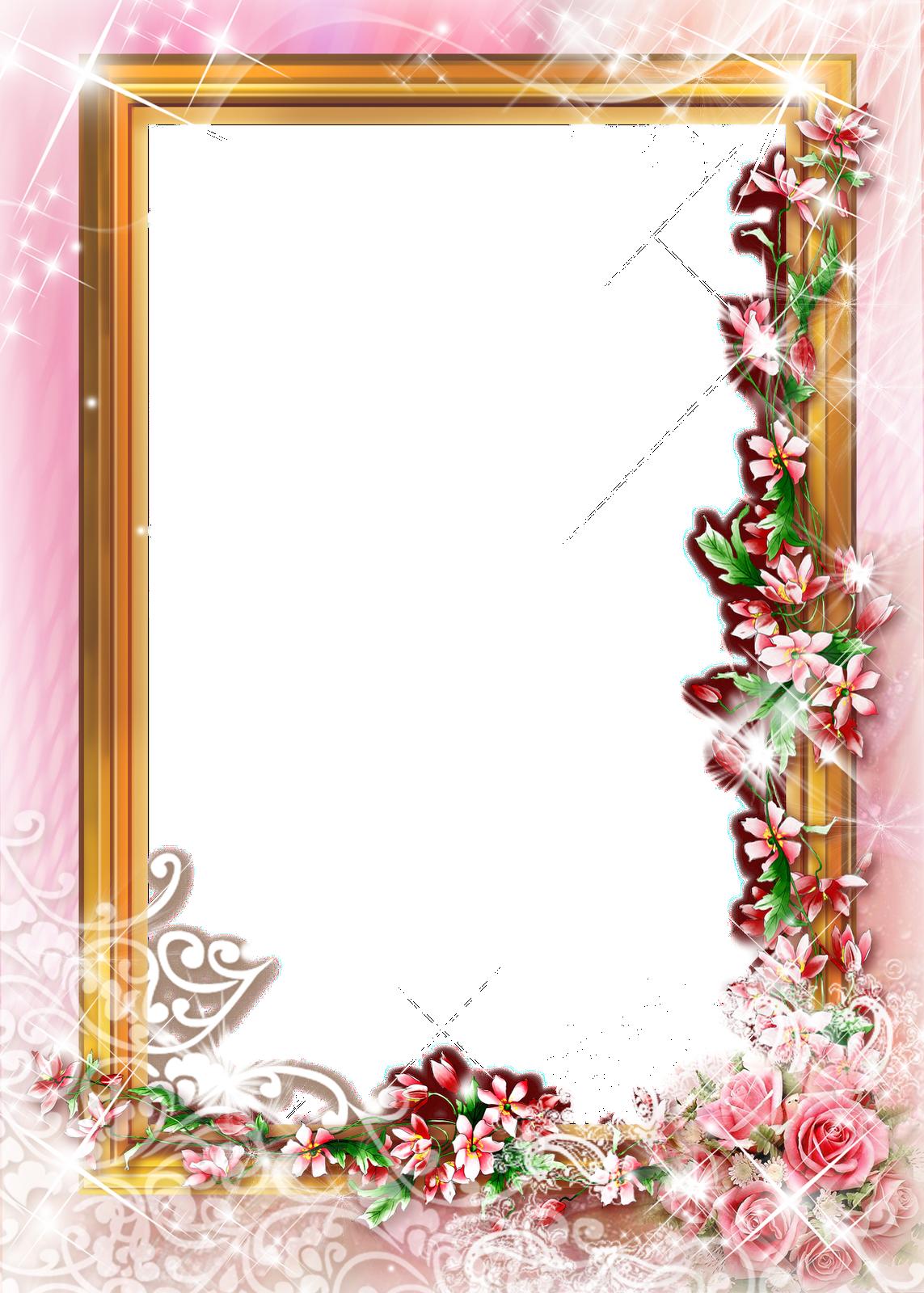 marcos para photoshop  marcos florales