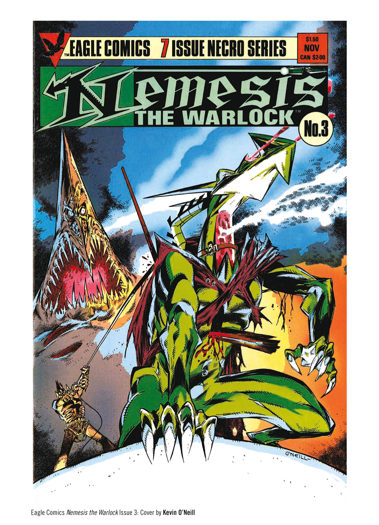 Read online Nemesis The Warlock comic -  Issue # TPB Deviant Edition - 224