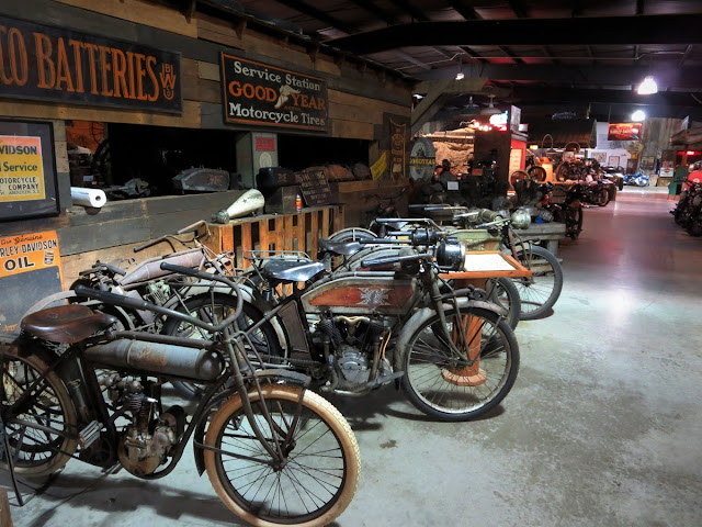 Antique motorcycles Wheels Through Time Museum