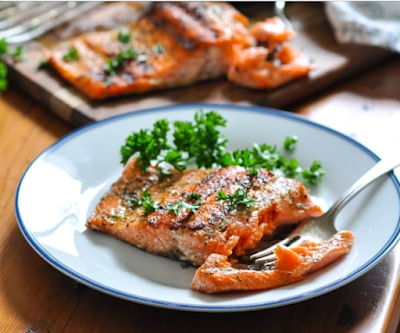 THE PERFECT 15-MINUTE GRILLED SALMON #healthy