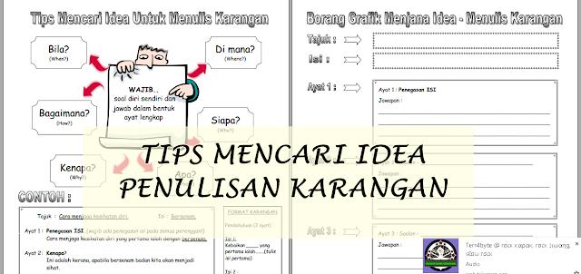 Bahasa Melayu UPSR 2016 | Teknik & Grafik Penulisan BM