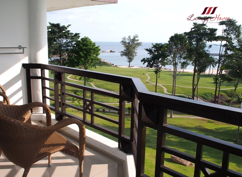 bintan lagoon resort balcony overlooking south china sea