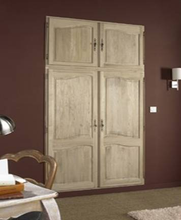 mode maison et deco une menuiserie d int rieur de charme porte de placard meuble en bois. Black Bedroom Furniture Sets. Home Design Ideas