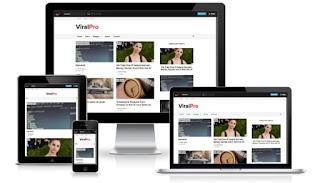 viral pro blogger template