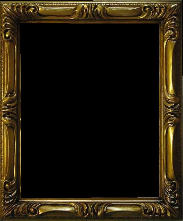 Marcos antiguos en png con fondo transparente pinceles - Marcos clasicos para fotos ...