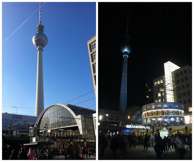 Torre de TV e Alexanderplatz, Berlim