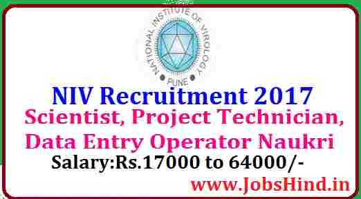 NIV Recruitment 2017