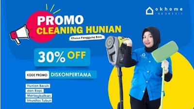 Dapatkan Layanan Cleaning Service dan AC Terbaik dari OKHOME