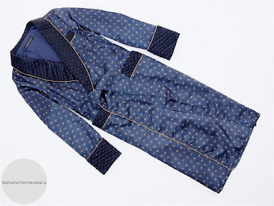mens paisley silk dressing gown quilted dark navy blue extra long luxury gentleman robe english