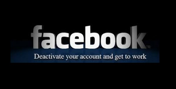 Method of deactivate facebook account